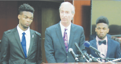 Photo of Student Jason Goolsby Still Fears Police