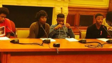 Photo of D.C. Students Seek Changes in Schools