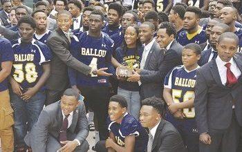 Photo of Morehouse Men, Ballou Students Unite