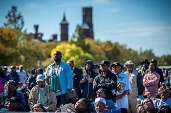 WASHINGTON, DC -- 10/10/15 -- Hundreds of thousands attended