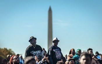 Photo of Fiery Rhetoric Dominates Million Man March Anniversary