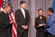 Photo of Carla Hayden Sworn In as 1st Black, Woman Librarian of Congress