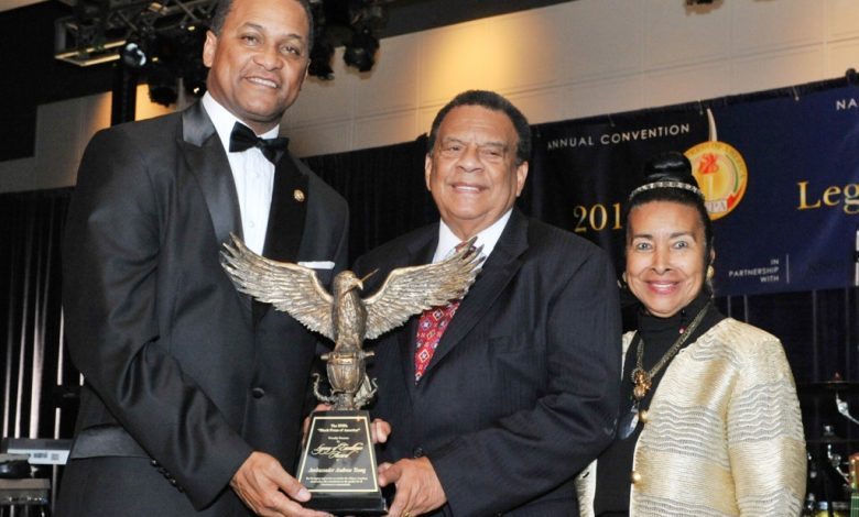 Photo of Andrew Young, Danny Bakewell Honored for 'Legacy of Excellence'