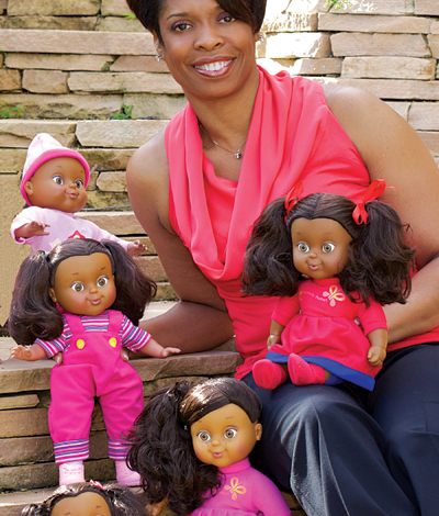 Photo of African American Woman Shows Girls They Are Positively Perfect with Doll Line