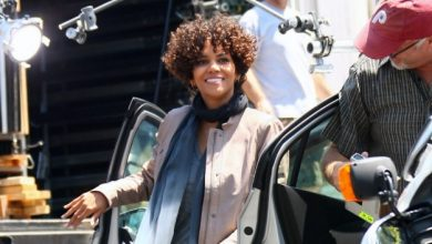 Photo of Halle Berry Taken to Hospital and Later Released