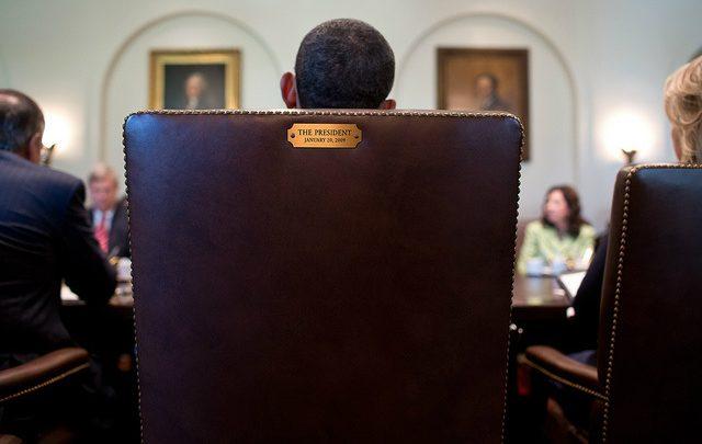 Photo of President Obama to Republicans: This Seat's Taken