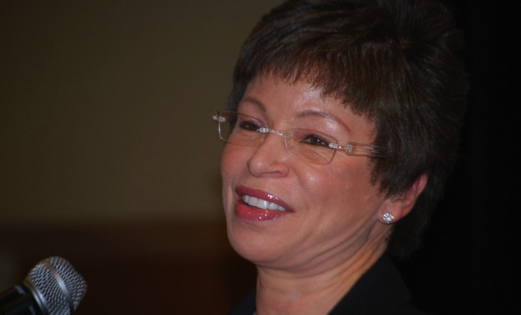 "Valerie Jarrett ""Newsmaker of the Year"" (Photo by Ann Ragland/NNPA)"