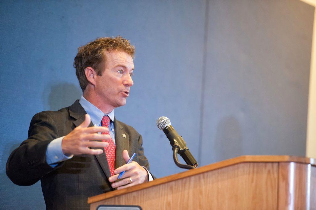 Senator Rand Paul Speaking at Howard University (Photo credit: Justin D. Knight, Howard University)