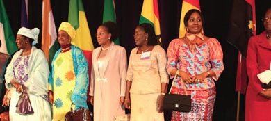 Photo of Africa's First Ladies Come to America