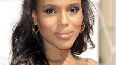 Photo of Kerry Washington Lands First Fashion Cover [GLAM]