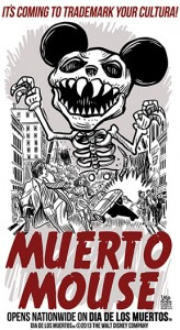 "Disney said it was no longer seeking a ""Dia de los Muertos"" trademark request because the film's name will change before its release. (laloalcaraz.com)"