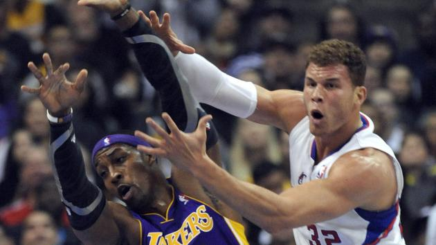 Could Blake Griffin and Dwight Howard be swapping uniforms soon (UPI/Lori Shepler)