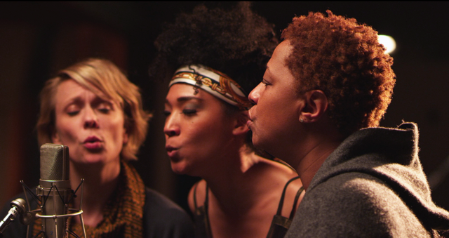 "Background Singers Jo Lawry, Judith Hill and Lisa Fischer in ""Twenty Feet from Stardom"""