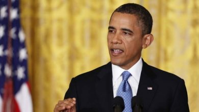 Photo of Obama Bristles at Suggestion He's Shifted on Snooping