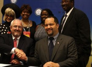Photo of NAACP Signs Agreement with FEMA
