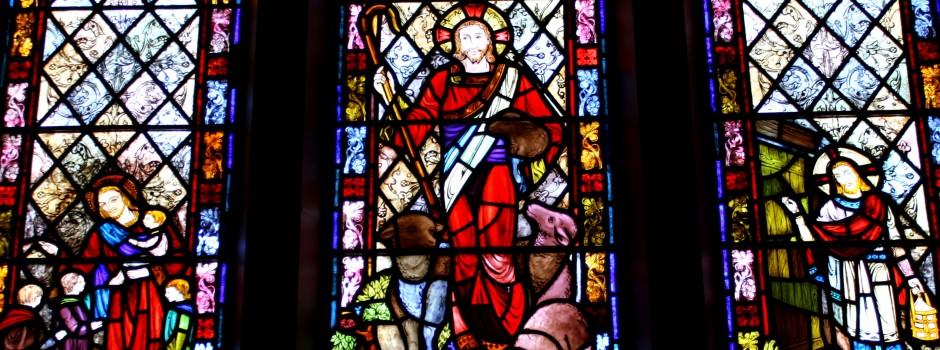 St. Aloysius Church stained glass window
