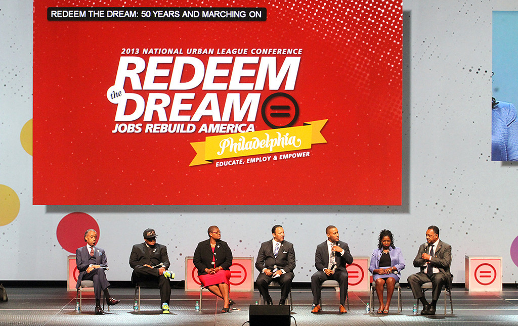 """National Urban League's """"Redeem the Dream"""" panel (NUL Photo by Lawrence Jenkins)"""