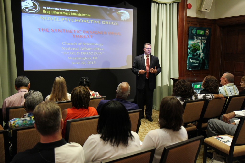 Special Agent Robert Bell, Office of Diversion Control US DEA (Drug Enforcement Agency) exposes the myths of synthetic drugs