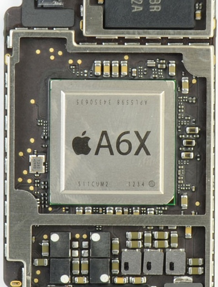 Apple's A6X chip is made by Samsung. But future Apple processors may be made elsewhere.