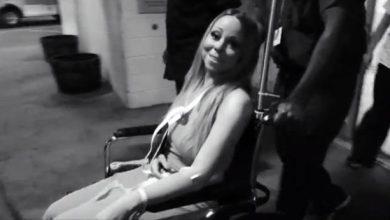 Photo of Mariah Carey Leaves Hospital in Sling: Watch Now!