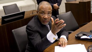 Photo of Charles Taylor War Crimes Convictions Upheld