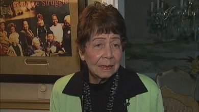 Photo of Evelyn Lowery back home after massive stroke