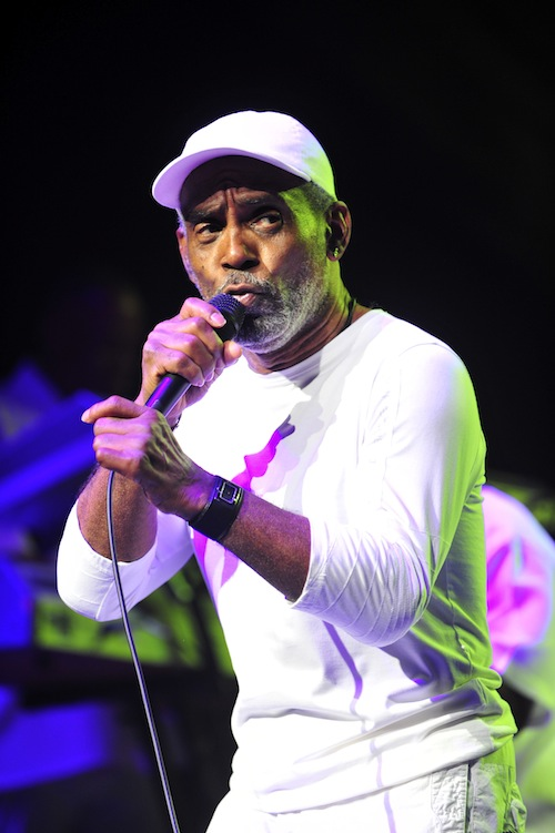 UNIVERSAL CITY, CA - AUGUST 25: Maze Featuring Frankie Beverly performs onstage at The Bounce TV Summer Music Festival With Maze Featuring Frankie Beverly at the Gibson Amphitheater on Sunday, August 25, 2013 in Universal City, California. (Photo by Valerie Goodloe/PictureGroup)