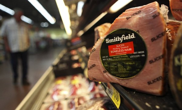 Chinese meat consumption has doubled in the last two decades. The purchase of Smithfield Foods by Shuanghui International Holdings is seen as a play to supply more protein to the world's second largest economy. (September 24, 2013)
