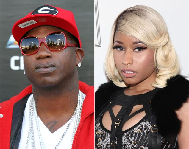 Rapper Gucci Mane took to Twitter to claim he slept with Nicki Minaj when she lived in Atlanta in the early stages of her career.