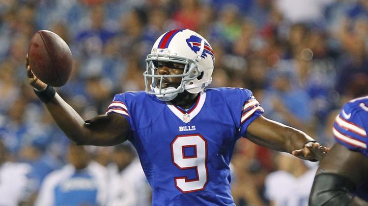 Buffalo Bills quarterback Thad Lewis
