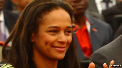 Isabel dos Santos is the only Angolan listed as a billionaire (Courtesy of BBC)