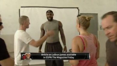 Photo of LeBron James Talks Role Models