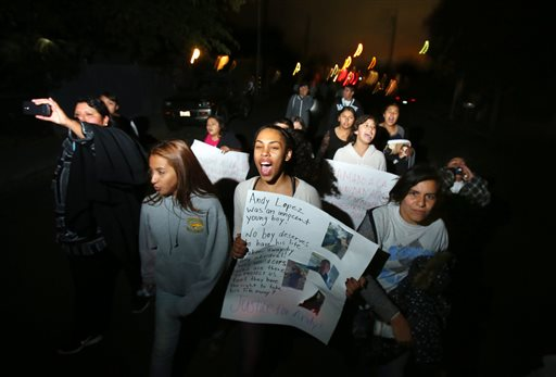 Protest for 13-year-old killed by Sheriff