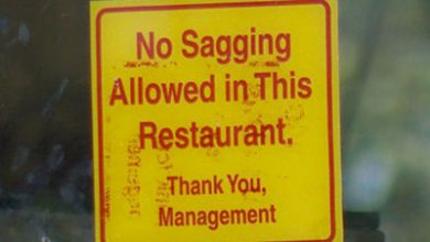 Photo of Sagging Pants Banned in Some Texas Restaurants