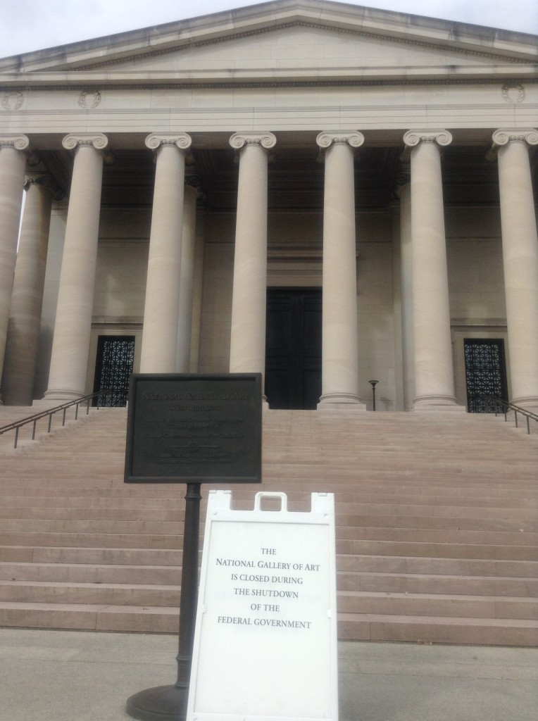 National Gallery of Art was a victim of shutdown (NNPA Photo by Ann Ragland).