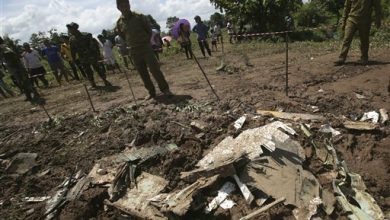 Photo of Bodies Recovered in Mekong After Laos Plane Crash