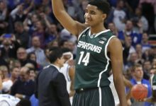 Photo of No. 2 is No. 1 as Spartans Beat Kentucky 78-74