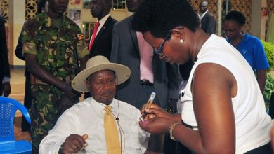 Photo of In Rare Move, Uganda Leader Publicly Tests for HIV