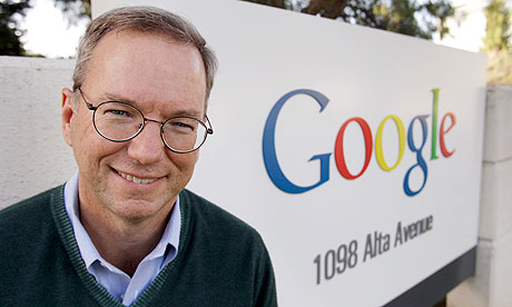 Google Executive Chairman Eric Schmidt (AP Photo)