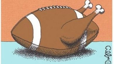 Photo of The 12 Immutable Rules of Watching Thanksgiving Football