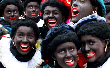 "Photo of Dutch Self-Image Shaken by ""Black Pete"" Debate"