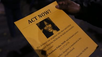 Photo of Protesters Call for Justice after Porch Killing