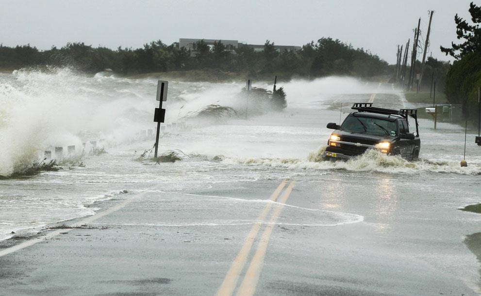 Hurricane Sandy (Courtesy of The Atlantic)