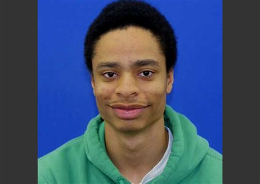 This file photo released by the Howard County Police shows Darion Marcus Aguilar, 19, of College Park, Md., who killed two people before killing himself in the Jan. 25, 2014 shooting at the Mall in Columbia, Md. (AP Photo/ Howard County Police, File)