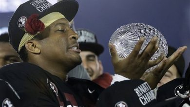 Photo of Winston Leads Top-Ranked Florida State Over Auburn