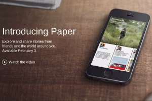 Photo of Facebook Heard You Like Newspapers, So It Decided to Make a Newspaper App Out of Your Facebook