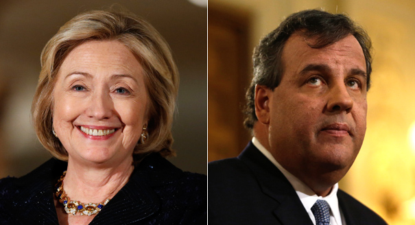 Despite his declining numbers, Christie remains the strongest opponent against Clinton. (AP Photos)