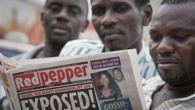 Photo of Ugandan Newspaper Prints List of '200 Top' Gays