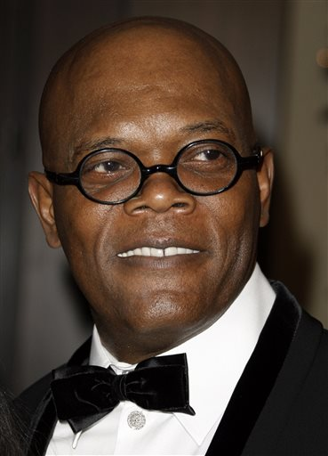 This Dec. 1, 2008 file photo shows actor Samuel L. Jackson arriving at the American Cinematheque Award gala honoring him in Beverly Hills, Calif.   (AP Photo/Matt Sayles, File)