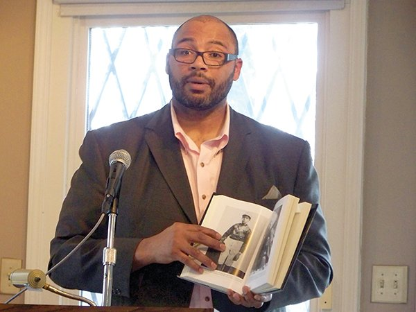 "Pellom McDaniels III, author of ""The Prince of Jockeys: The Life of Isaac Burns Murphy"" (Photo by Titus Falodun)"